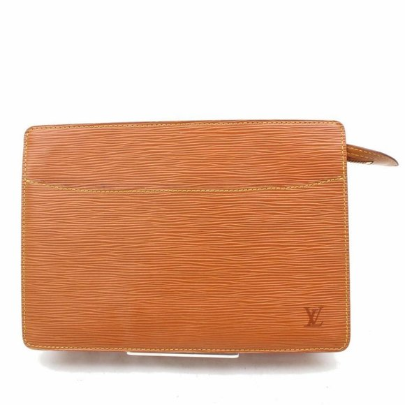 Louis Vuitton  Brown Epi Pochette Homme Clutch